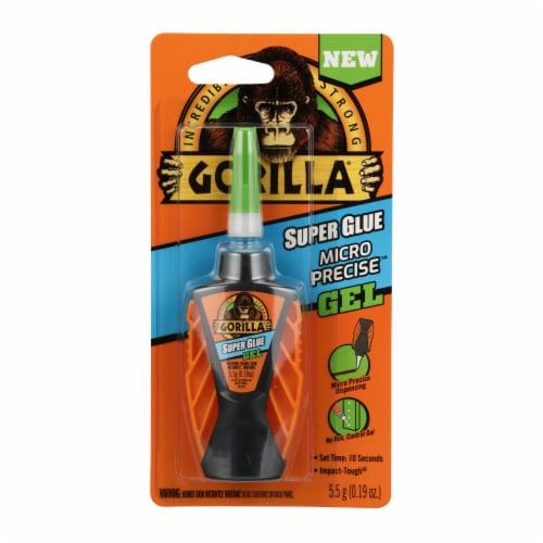 Gorilla 0.19 Oz. Gel Micro Precise Super Glue 102177 Perspective: front