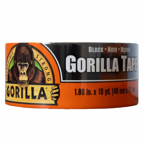Gorilla® Tape - Black Perspective: front