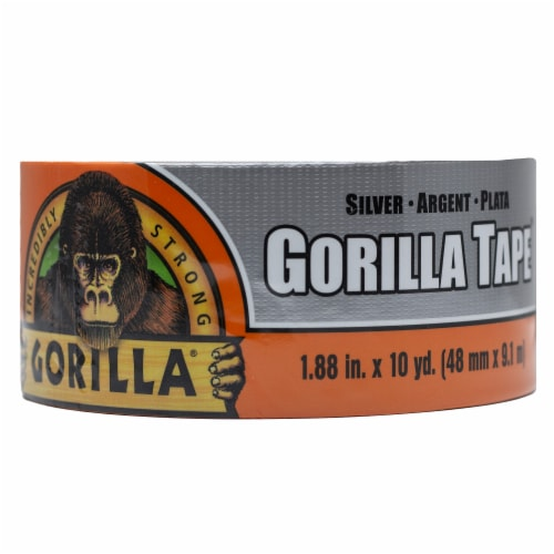 Gorilla Tape - Silver Perspective: front