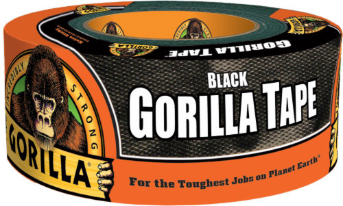 Gorilla Tape - Black Perspective: front