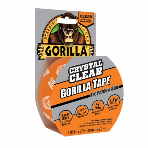 Gorilla Repair Tape - Crystal Clear Perspective: front