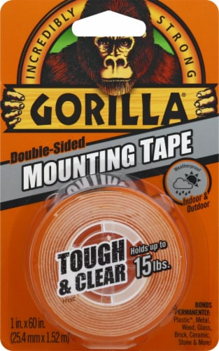 Gorilla Double-Sided Mounting Tape Perspective: front