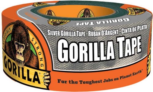 Gorilla Adhesive Tape - Silver Perspective: front