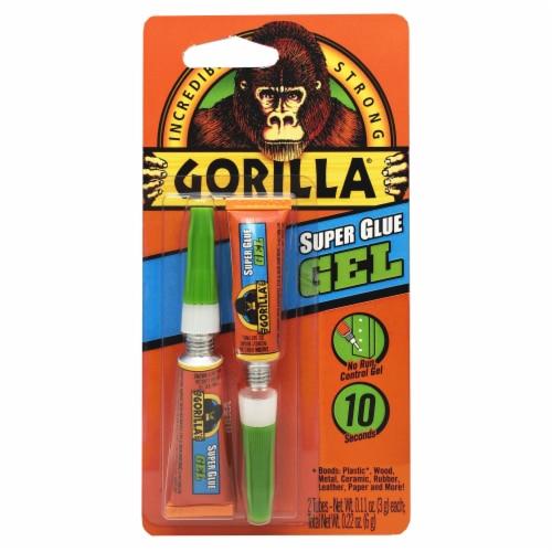 Gorilla® Super Glue Gel Perspective: front