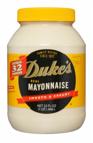 Duke's Real Mayonnaise Perspective: front