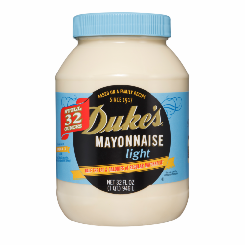 Duke's Light Mayonnaise Perspective: front