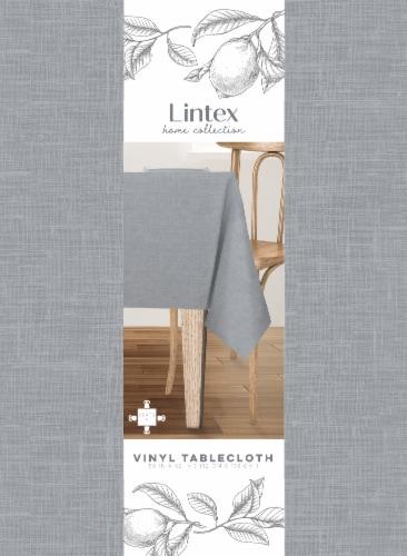 Lintex Maison Vinyl Tablecloth - Blue Perspective: front