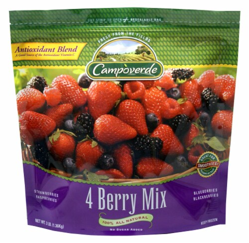 Campoverde 4 Berry Mix Perspective: front