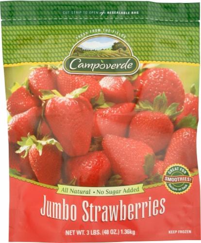 Campoverde Jumbo Strawberries Perspective: front