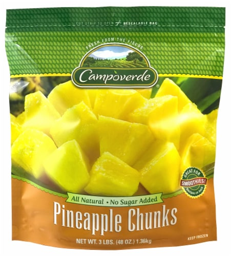 Campoverde Pineapple Chunks Perspective: front