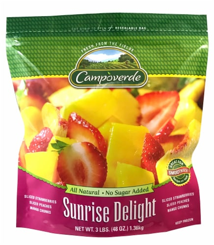 Campoverde Sunrise Delight Mixed Frozen Fruit Perspective: front