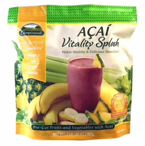 Campoverde Acai Vitality Splash Fruit & Veggie Blenders Perspective: front