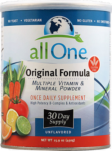 All One Original Formula Vitamin Powder Perspective: front