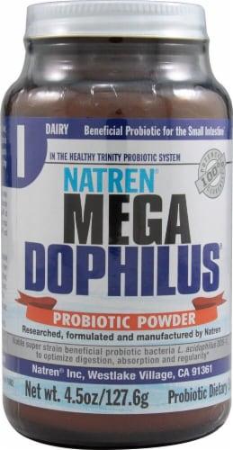 Natren Mega Dophilus Dairy Probiotic Powder Perspective: front