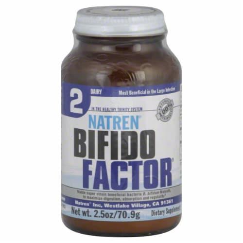 Natren Dairy Bifido Factor Perspective: front