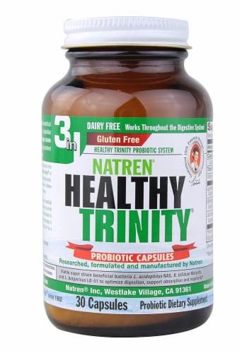 Natren Healthy Trinity Probiotic Perspective: front