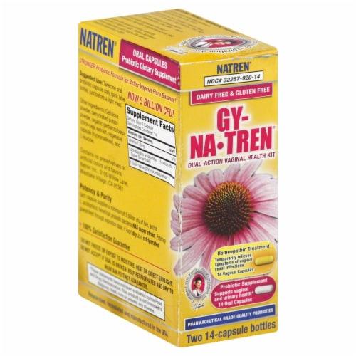 Natren Dual Action Vaginal Health Kit Perspective: front
