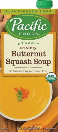 Pacific Foods Organic Creamy Butternut Squash Soup Perspective: front
