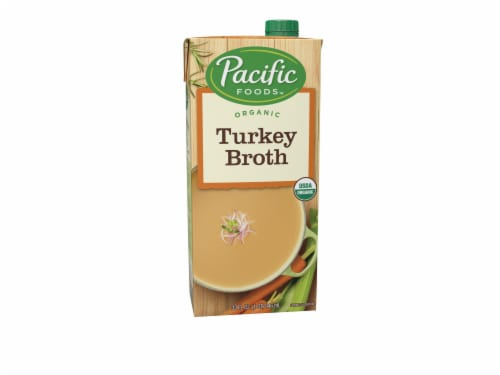 Pacific Organic Turkey Broth Perspective: front