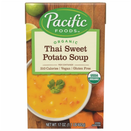 Pacific Thai Sweet Potato Soup Perspective: front