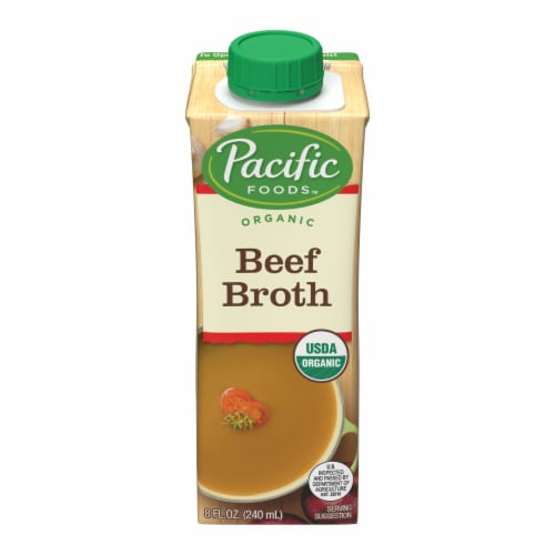 Pacific Foods Organic Beef Broth Perspective: front