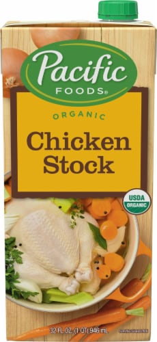 Pacific Organic Chicken Stock Perspective: front