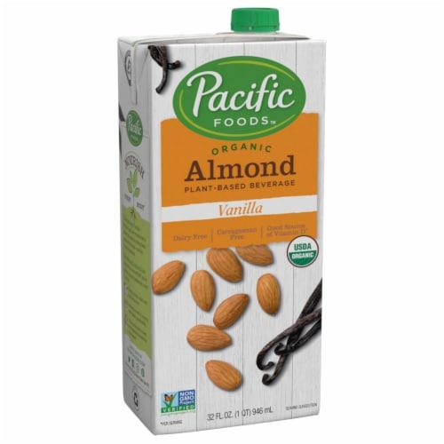 Pacific Vanilla Almond Beverage Perspective: front