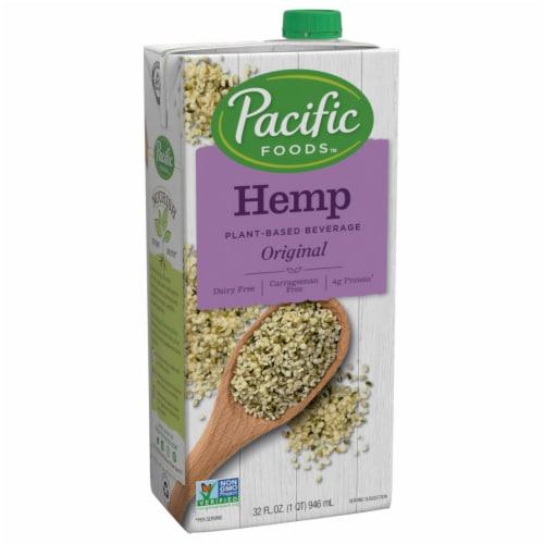 Pacific Hemp Original Milk Beverage Perspective: front