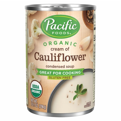 Pacific Organic Cream of Cauliflower Condensed Soup Perspective: front