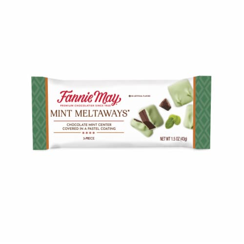 Fannie May Mini Meltaway Candy Perspective: front