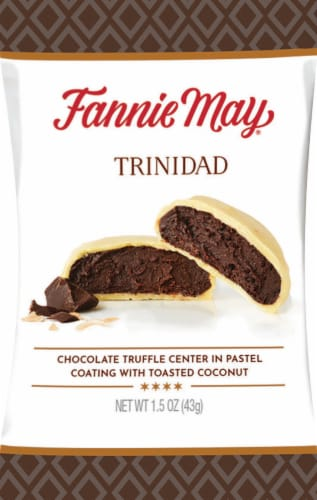 Fannie May Trinidad Candy Perspective: front