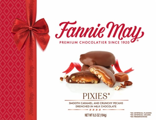 Fannie May Milk Chocolate Pixies Perspective: front