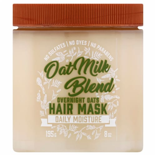 Aveeno Oat Milk Blend Overnight Oats Hair Mask Perspective: front