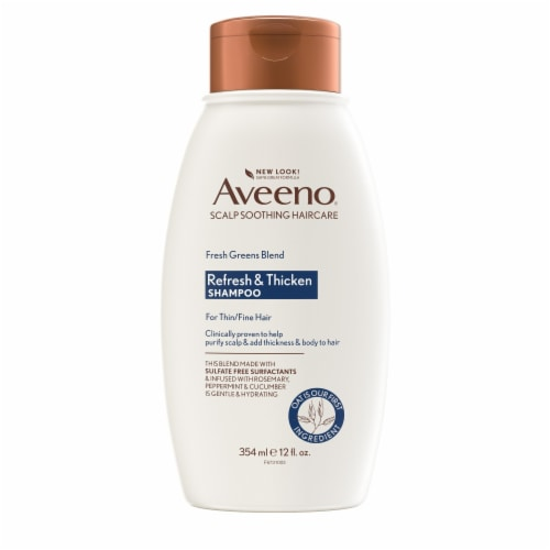 Aveeno Fresh Greens Blend Shampoo Perspective: front