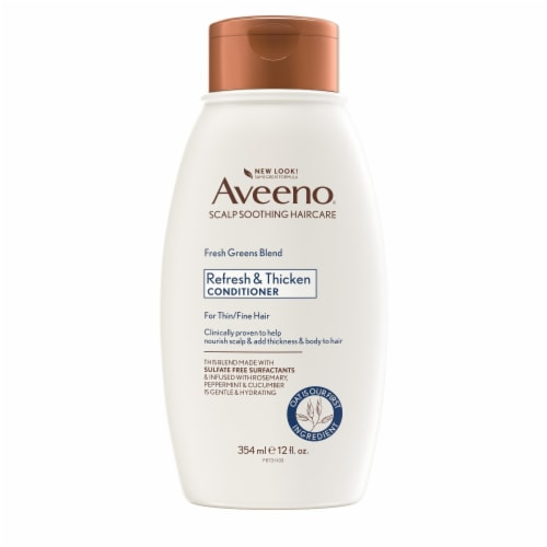 Aveeno Fresh Greens Blend Conditioner Perspective: front