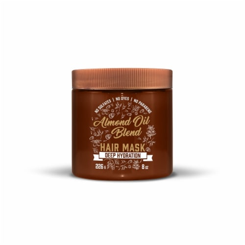 Aveeno Almond Oil Blend Hair Mask Perspective: front