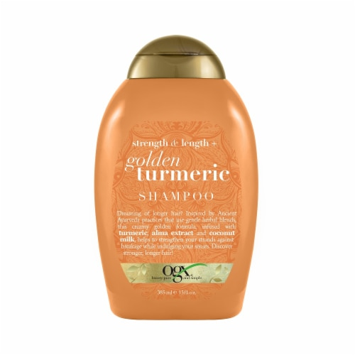 OGX® Golden Turmeric Shampoo Perspective: front