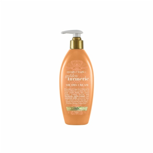 OGX Strength & Length + Golden Turmeric Air Dry Cream Perspective: front