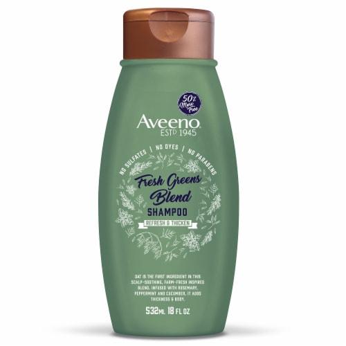 Aveeno® Fresh Greens Blend Shampoo Perspective: front