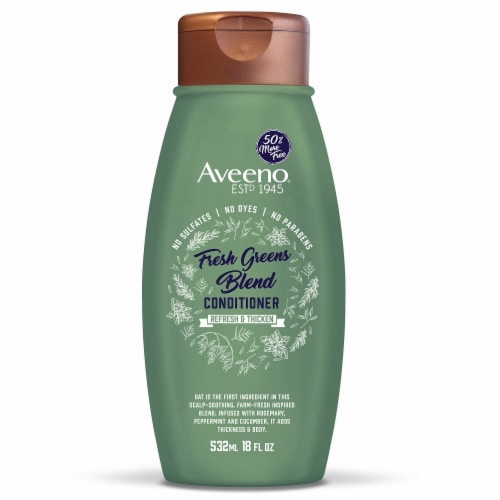 Aveeno® Fresh Greens Blend Conditioner Perspective: front