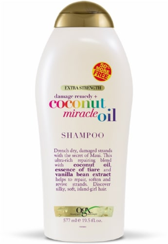 OGX Coconut Miracle Oil Shampoo Perspective: front