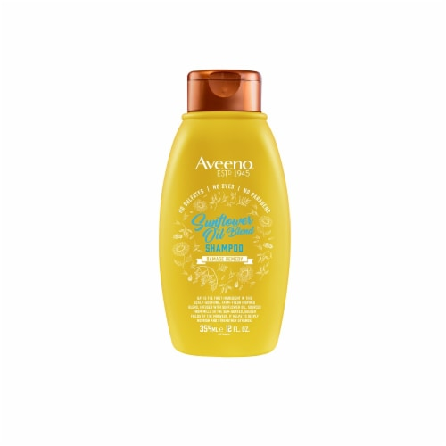 Aveeno Sunflower Oil Blend Damage Remedy Shampoo Perspective: front