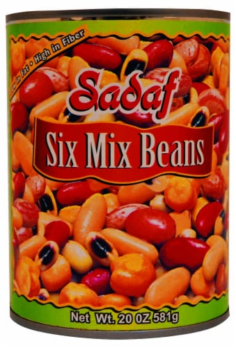 Sadaf Six Mix Beans Perspective: front