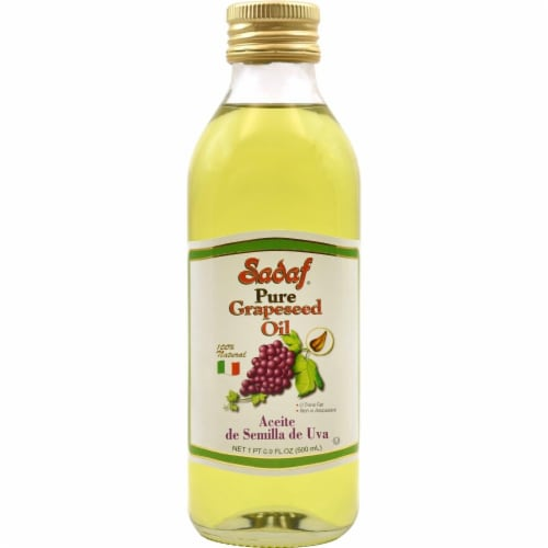 Sadaf Pure Grapeseed Oil Perspective: front