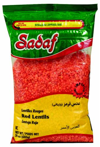 Sadaf Red Lentils Perspective: front