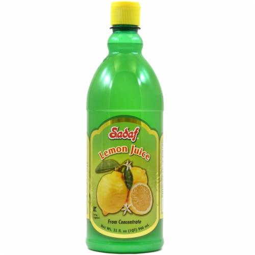 Sadaf Natural Lemon Juice Perspective: front