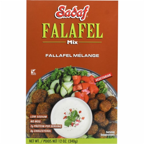 Sadaf Falafel Mix Perspective: front