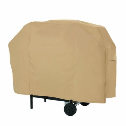Classic Accessories 53912-EC CART BBQ COVER SAND -MED-8CS Perspective: front