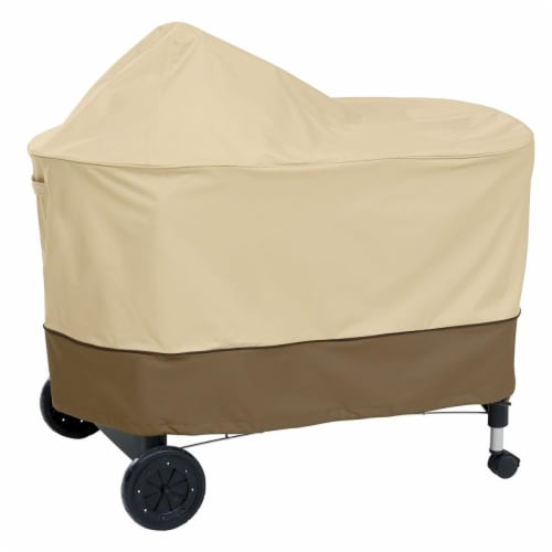 Classic Accessories 55-411-011501-00 Bbq Grill Cover, Pebble Perspective: front