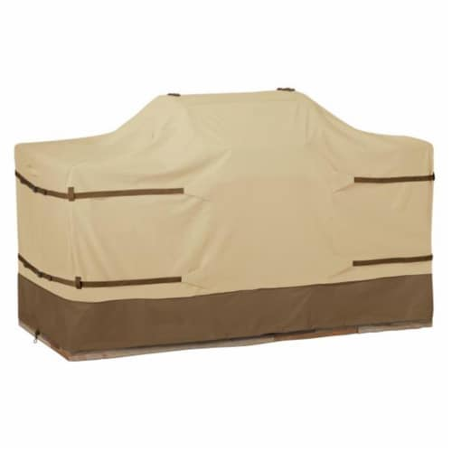 Classic Accessories 55-628-031501-00 Medium Island Grill Cover, Pebble Perspective: front